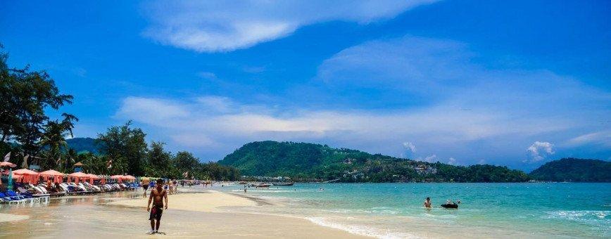 Пляж Патонг  - море и ночная жизнь